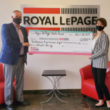 Kelowna Women's Shelter Gets Support from Local Real Estate Agents